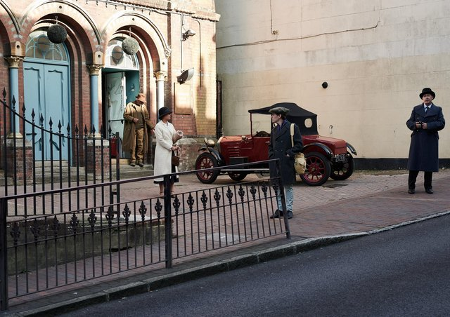 Feature film filmed in Lewes