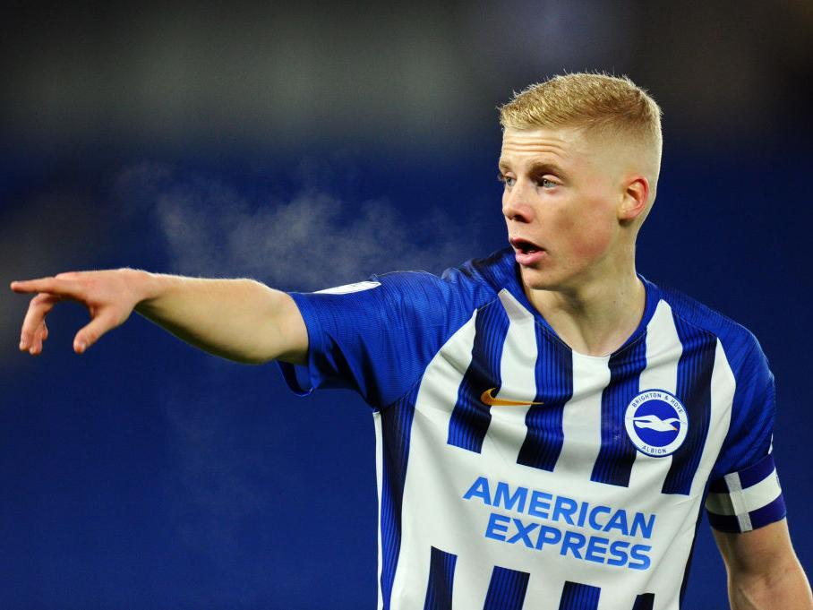 Portsmouth keen on loan move for Brighton and England youth left-back Alex Cochrane
