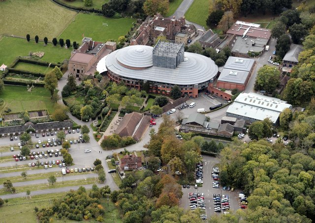 Some of the car parks at Glyndebourne opera house might be suitable to house a Covid drive-in testing centre
