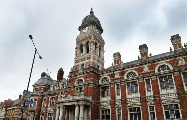 Eastbourne Town Hall (Photo by Jon Rigby) SUS-190425-155054008