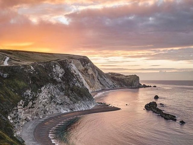 The Jurassic Coast came in at number 8 on the list