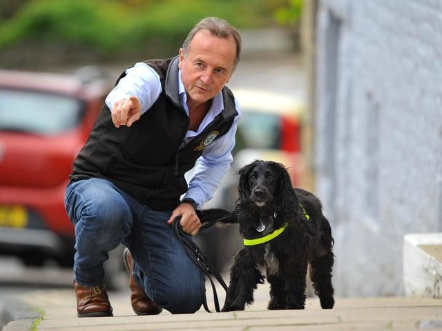 Colin Butcher established The UK Pet Detectives in 2005. Photo: Steve Robards
