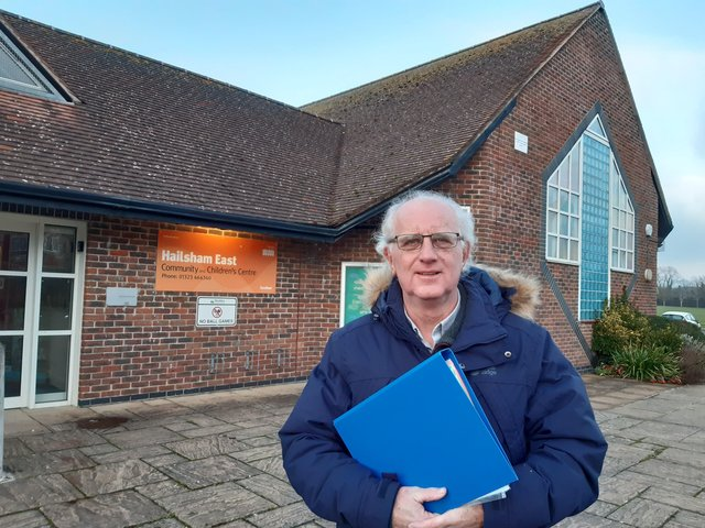 Steve Murphy has been campaigning for a new community hospital in Hailsham