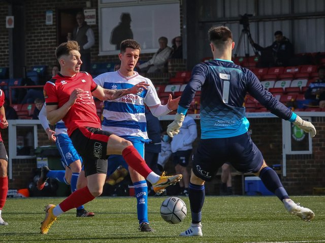 Borough take on QPR / Picture: Andy Pelling