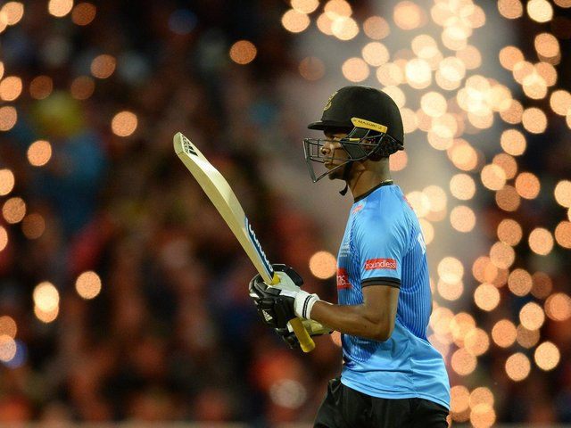 Delray Rawlins hopes to create fireworks in The Hundred / Picture: Getty