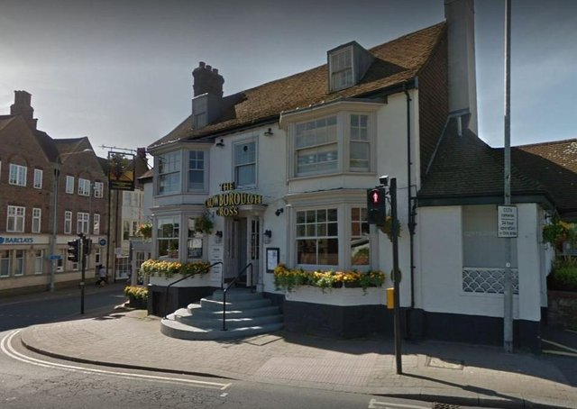 The Crowborough Cross. Picture: Google Street View