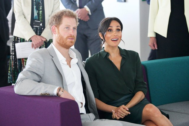 Prince Harry and Meghan Markle, the Duke and Duchess of Sussex. Photo by Derek Martin Photography SUS-180310-150028008