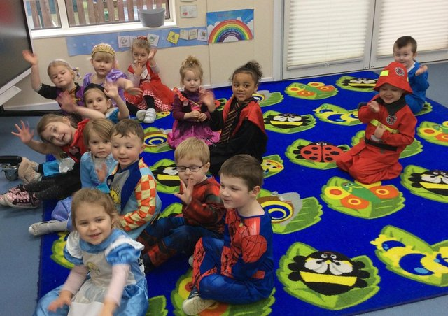 Mark Townsend sent in this photo from Bright Sparks Nursery