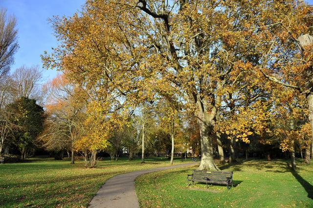 Hotham Park, Bognor. Pic Steve Robards SR2011142 SUS-201114-130236001
