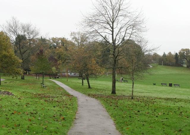 Victoria Park in Haywards Heath. Photo by Derek Martin
