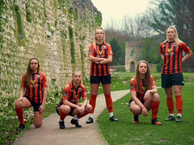 Lewes pay their women's players the same as their men - the only semi-pro club to do so