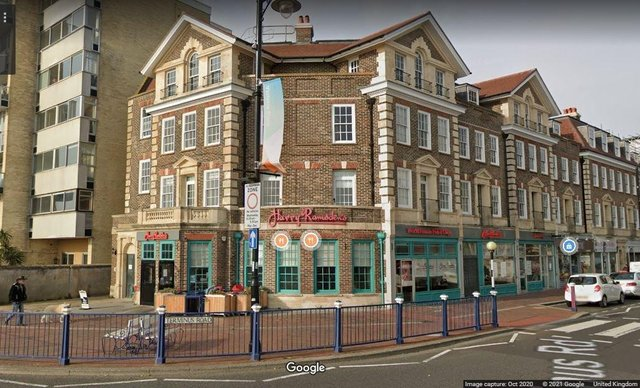 Harry Ramsdens, Eastbourne. Pic: Google Street View