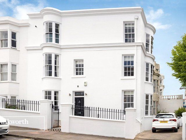 A stunning four storey town house in the heart of Brighton.