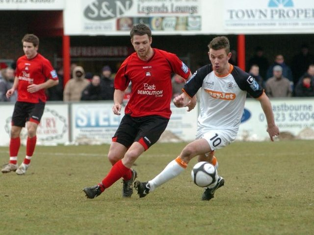 Would Ben Austin be in your all-time Eastbourne Borough team?