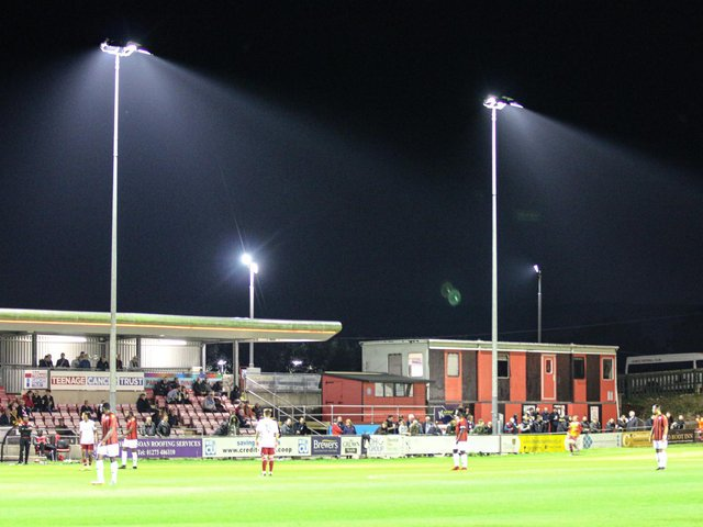Lewes are grateful for government support for clubs during lockdown / Picture: James Boyes