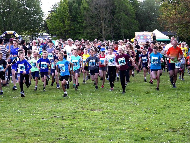 Images by Ron Hill show the 2019 Little Horsted Fun Run - let's hope the event can return this year after an enforced break in 2020