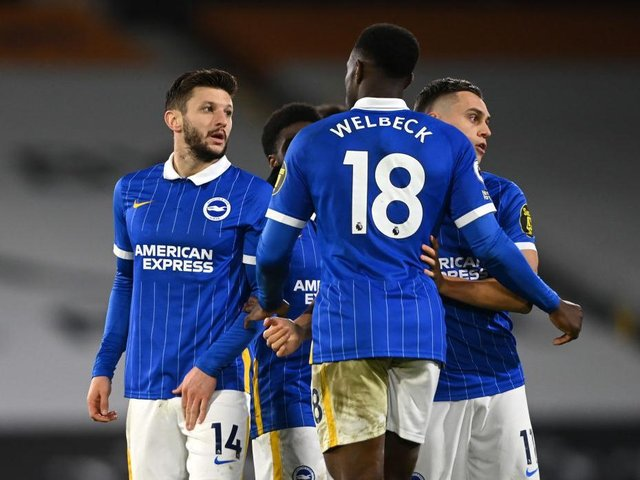 The fitness of Adam Lallana and Danny Welbeck will be vital to Brighton's relegation battle