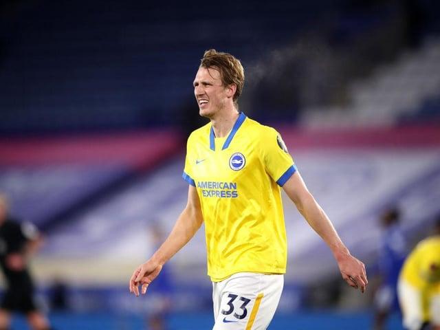 Brighton defender Dan Burn is an injury doubt for Newcastle having injured his thigh at Southampton last week
