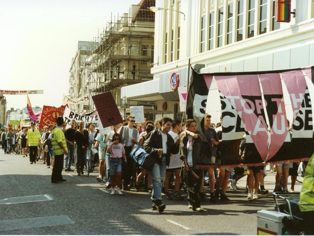 Queer Heritage - Brighton Section 28 (1987-88) - Sally Munt