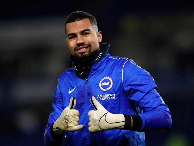 Robert Sanchez has impressed in the Premier League with Brighton and caught the eye of Spain coach Luis Enrique