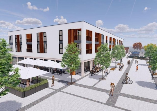 An impression of how the site could look. Photo: Henry Davidson Developments