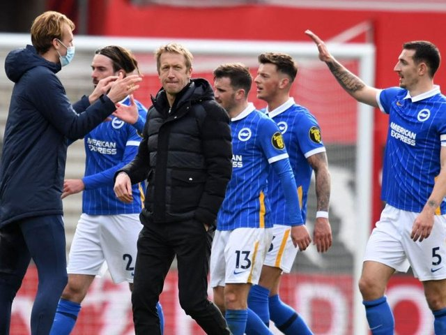 Brighton took a big step forward in their battle to avoid the drop with a 2-1 win at Southampton last Sunday