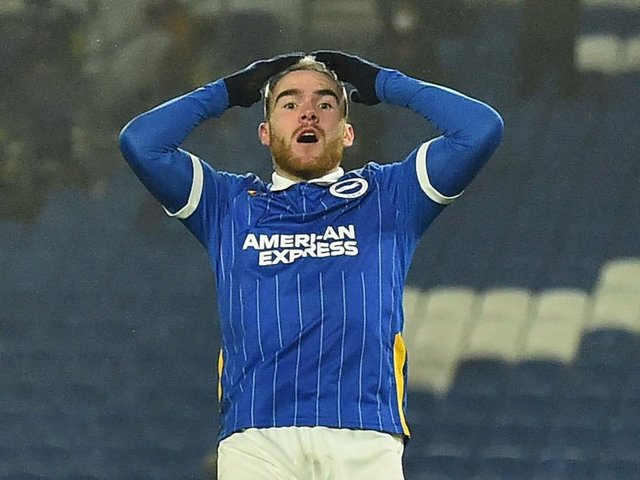 Aaron Connolly has already seen both sides to the life as a Premier League striker