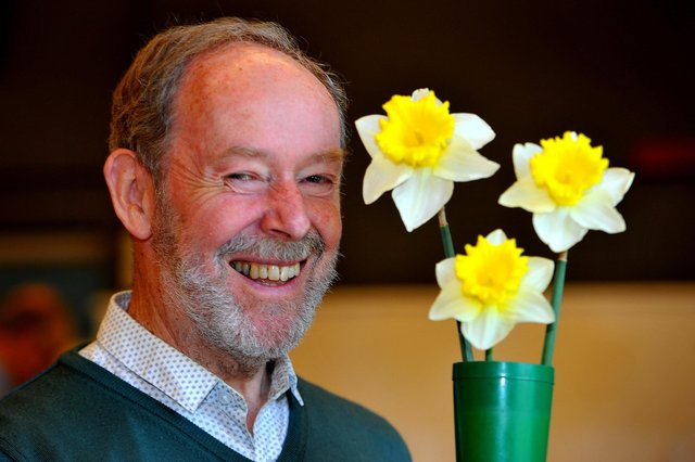 David Faulke, Newick Horticultural Society Chairman.  Pic Steve Robards SR1908393 SUS-190104-140448001