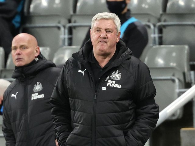 Under pressure Newcastle United manager Steve Bruce