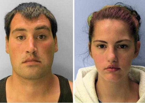 Michael Roe and Tiffany Tate have been jailed. Picture: Sussex Police