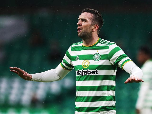 Brighton's Shane Duffy has struggled to find his best form since moving to Celtic on loan