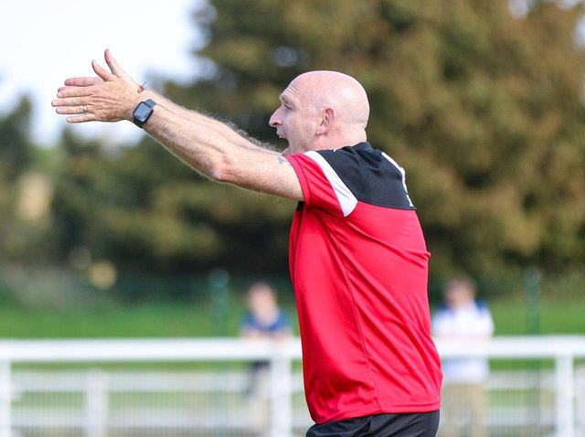 Former Lewes first team manager Hugo Langton. Picture by James Boyes