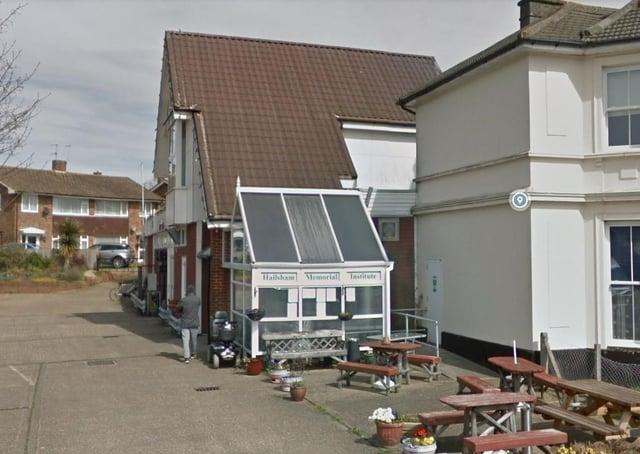 The Hailsham Memorial Institute. Photo: Google Streetview