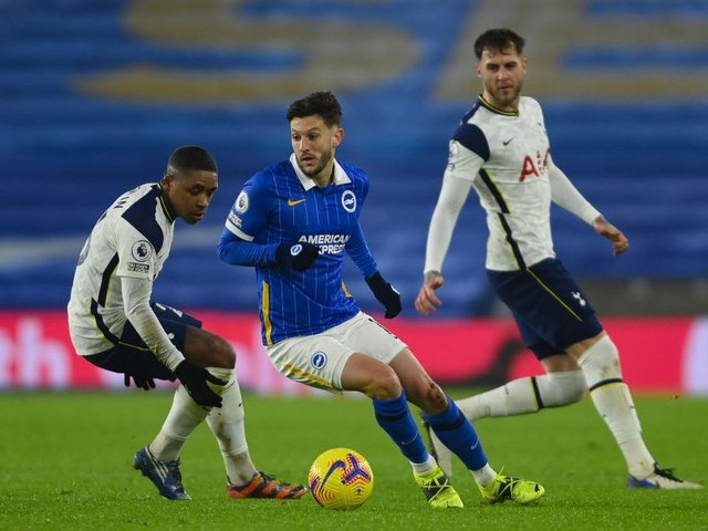 Brighton midfielder Adam Lallana believes Brighton are capable of getting maximum points at Old Trafford this Sunday
