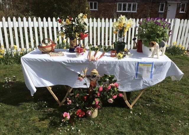 Newick Horticultrual Society Spring Flower Trail proved popular among residents