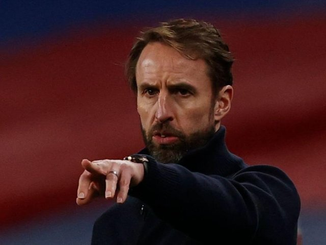 England head coach Gareth Southgate will lead his team out against Poland tonight for a World Cup qualifier