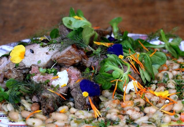 Lamb dish  Pic: Vikki Lince
