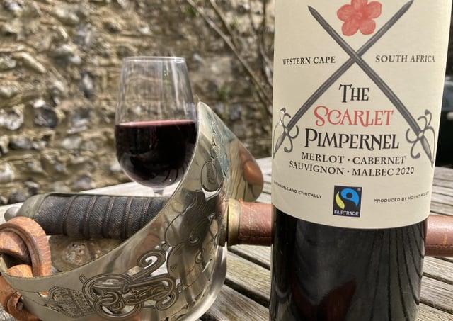 The Scarlet Pimpernel wine