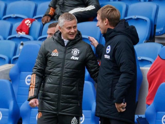 Manchester United manager Ole Gunnar Solskjaer has full respect for Graham Potter's Brighton