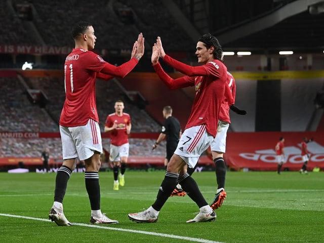 Mason Greenwood and Ed Cavani could be key for Man United against Brighton tonight