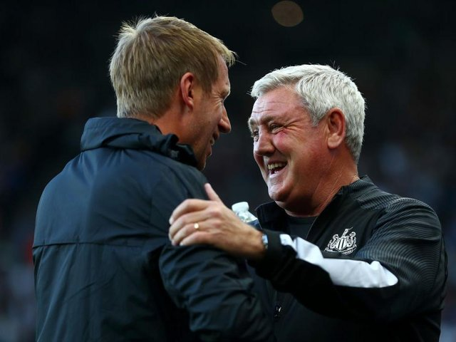Brighton and Newcastle are determined to avoid that final relegation spot