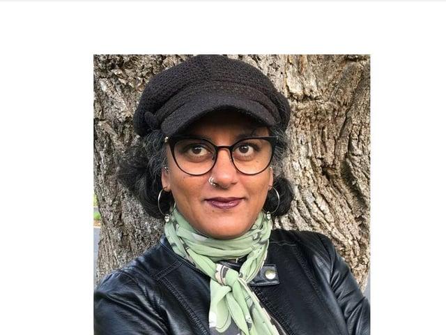 Gallery director Neeta Pedersen