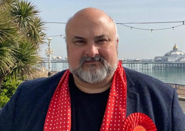 Labour's Sussex PCC election candidate Paul Richards