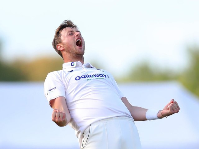 Ollie Robinson has been appointed Sussex's County Championship vice-captain ahead of the new season. Picture by James Chance/Getty Images