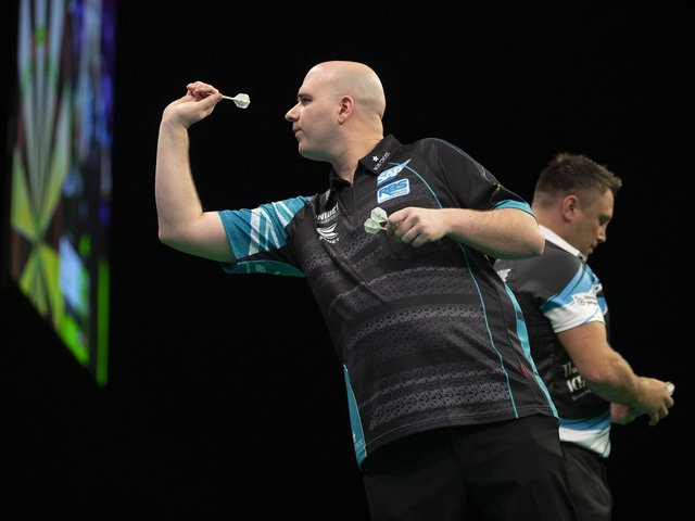 Rob Cross / Picture: Lawrence Lustig - PDC
