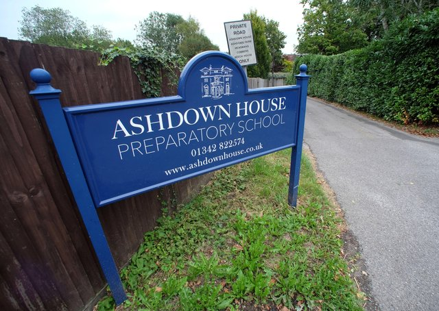 Ashdown House School in Forest Row. Picture: Peter Cripps