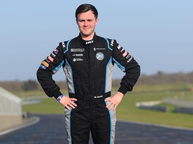 Will Hunt is optimistic ahead of the 2021 motorsport season