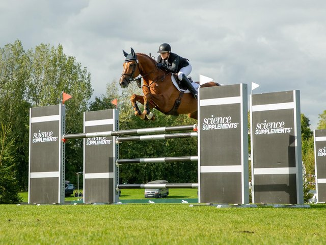 There will be action aplenty at Hickstead in September / Picture: Julian Portch
