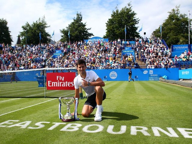 Eastbourne is an important event in the LTA's grasscourt season and continues to attract the top names such as Novak Djokovic, who won the tournament in 2017
