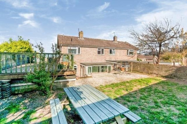 An Eastbourne three-bed just added up for sale on property website Zoopla  with a starting guide price of £275,000. Photograph: Zoopla